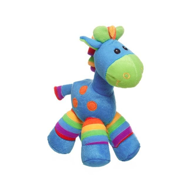 Gerry Giraffe Bright Stripes - Blue