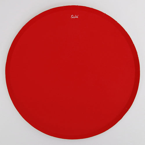 Red Paper Side Plates 18cm