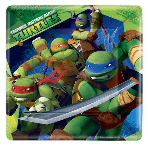 TMNT Party Dinner Plates