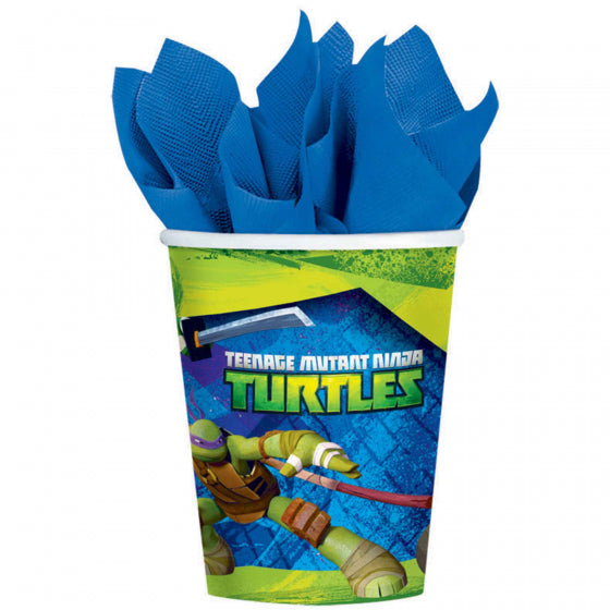 TMNT Paper Cups