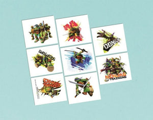 TMNT Temporary Tattoo Favors