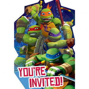 TMNT Party Invitations