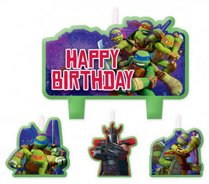 TMNT Candle Set
