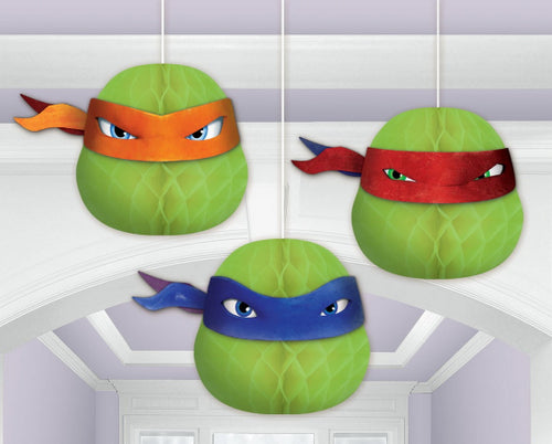 TMNT Honeycomb Decorations