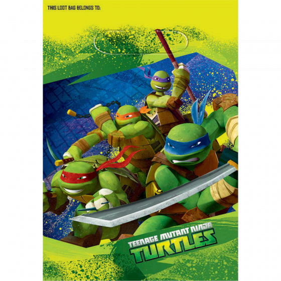 TMNT Party Loot Bag