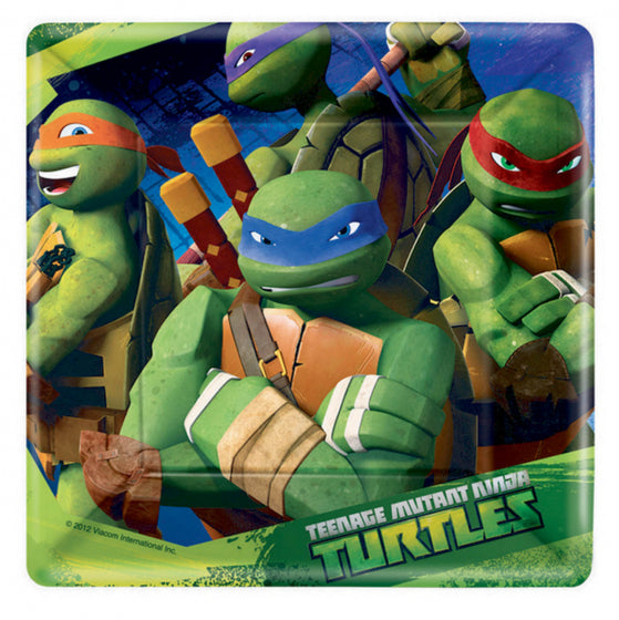 TMNT Party Snack Plates