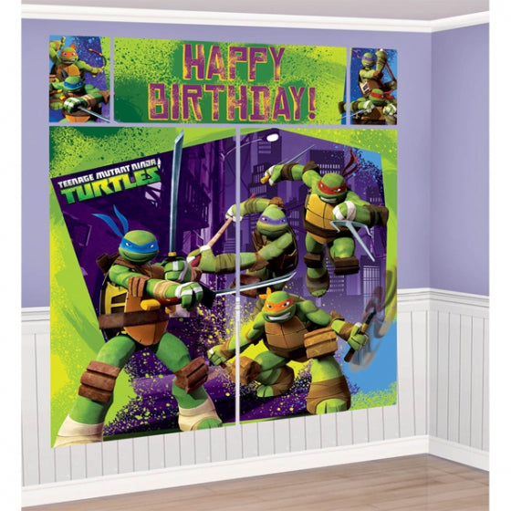 TMNT Backdrop - wall decorating kit