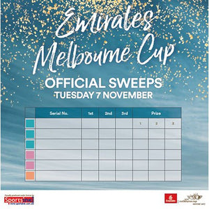 Melbourne Cup Sweep Book