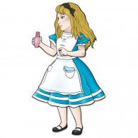 Alice In Wonderland Giant Cutout