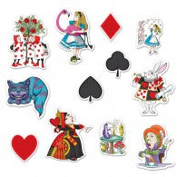 Alice In Wonderland Cutouts