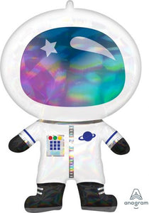 Anagram Foil SuperShape Iridescent Astronaut