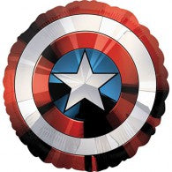 Avengers Captain Americas Shield Foil Balloon