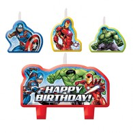 Avengers Party Candle Set