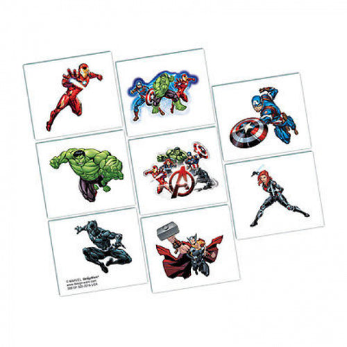 Avengers Temporary Tattoos
