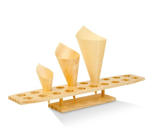 Bamboo Cone Holder