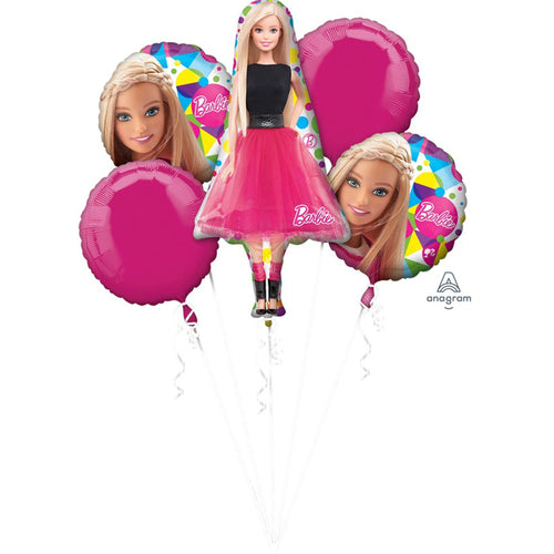 Barbie Balloon Bouquet