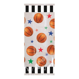 Basketball Party Bags with twist ties