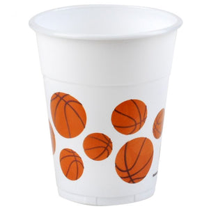Basketball Plastic Cups