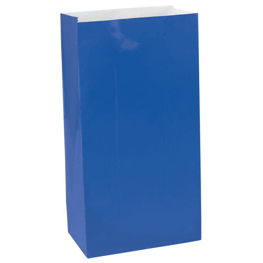 Blue (Royal) Paper Lolly Bags