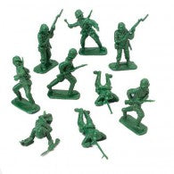 Plastic army soldiers