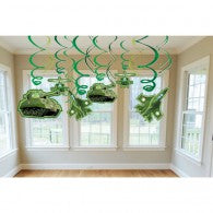 Camouflage Army swirl decorations