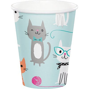 Cat Party, Purr-Fect Party Paper Cups