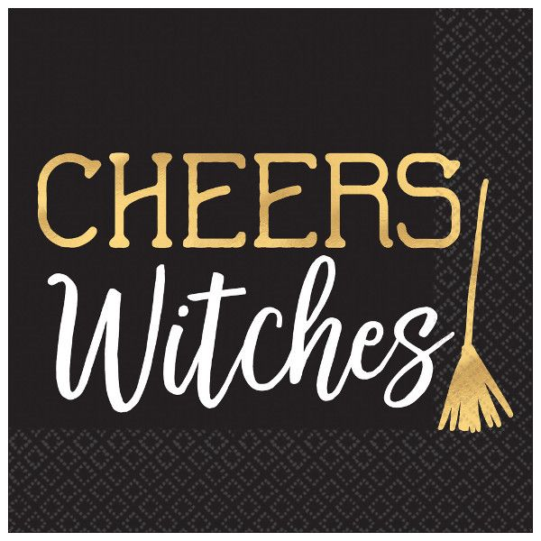 Cheers Witches Napkins