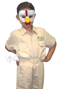 Chicken Mask and tail