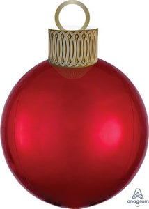 Christmas Ornament Balloon Kit - Red