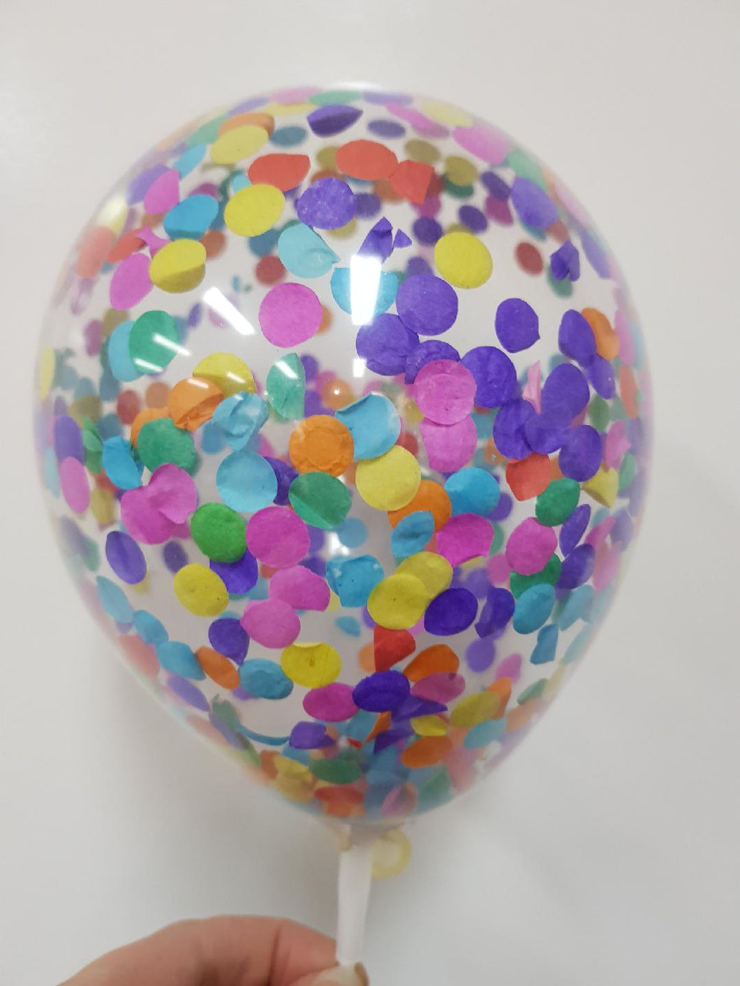 Confetti Balloon - Rainbow Mix