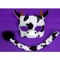 Cow Mask & Tail