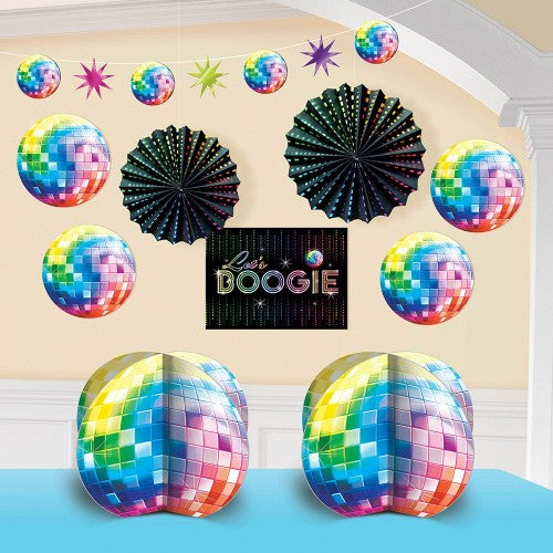 Disco Room Decorating Kit