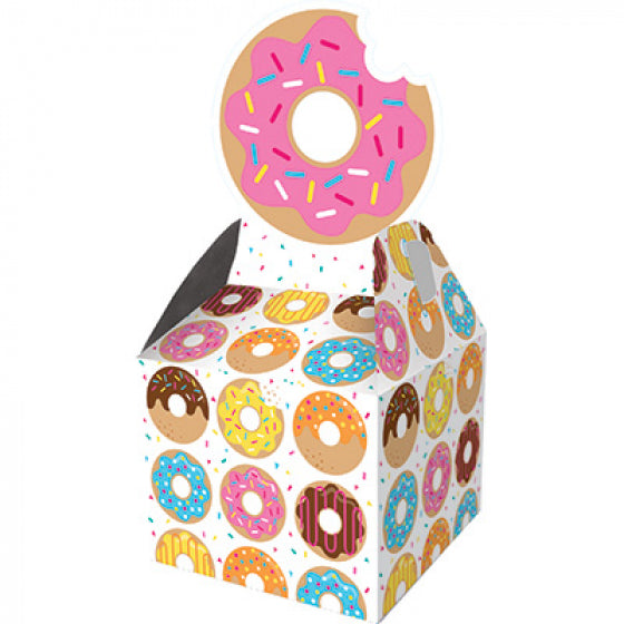 Donut Time Party Favor Boxes