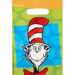Dr Seuss Cat In the Hat Loot Bags