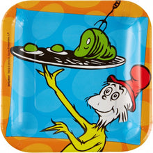 Dr Seuss Cat In The Hat Snack Plates
