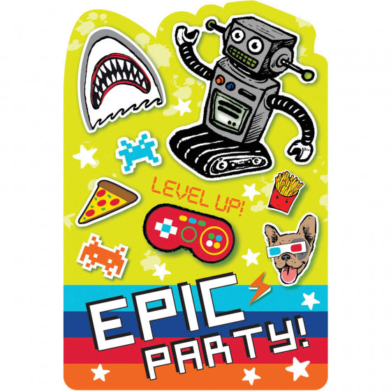 Epic Party Invitations