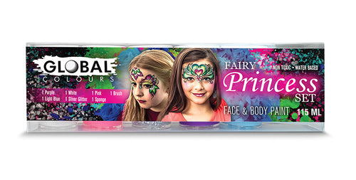 Fairy Princess Face Paint Set-Global Colors