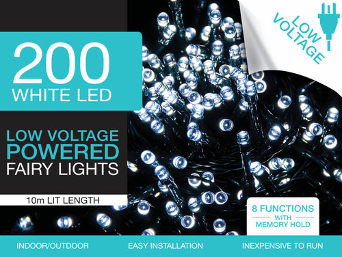 Fairy Lights 200 white LED