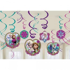 Frozen Swirl Decorations