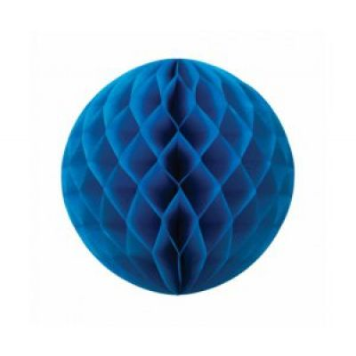 Honeycomb Ball 25cm Electric Blue