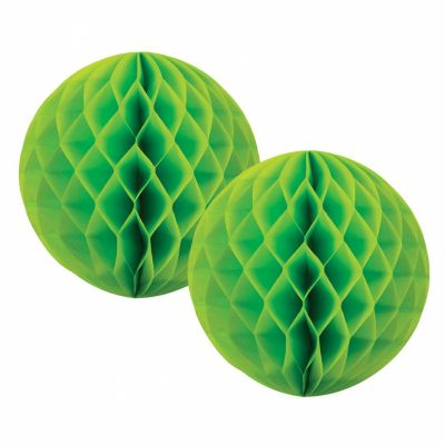 Honeycomb Ball 15cm Lime Green
