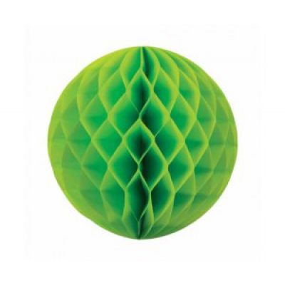 Honeycomb Ball 25cm Lime Green