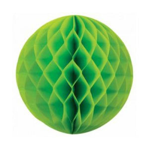 Honeycomb Ball 35cm Lime Green