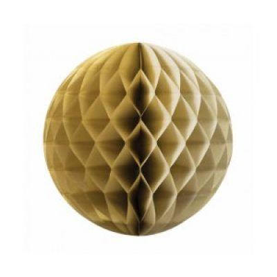 Honeycomb Ball 25cm Gold