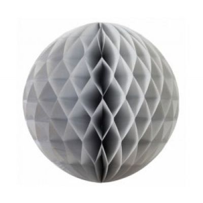 Honeycomb Ball 35cm Silver