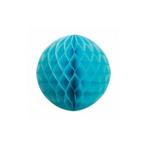 Honeycomb Ball 25cm Pale Blue