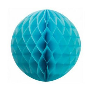 Honeycomb Ball 35cm Pale Blue