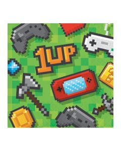Gaming Party Beverage Napkins