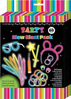 Glow In The Dark Mega Pack 60pc