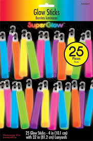 Glow Sticks 10cm Mega Pack - Assorted Colors